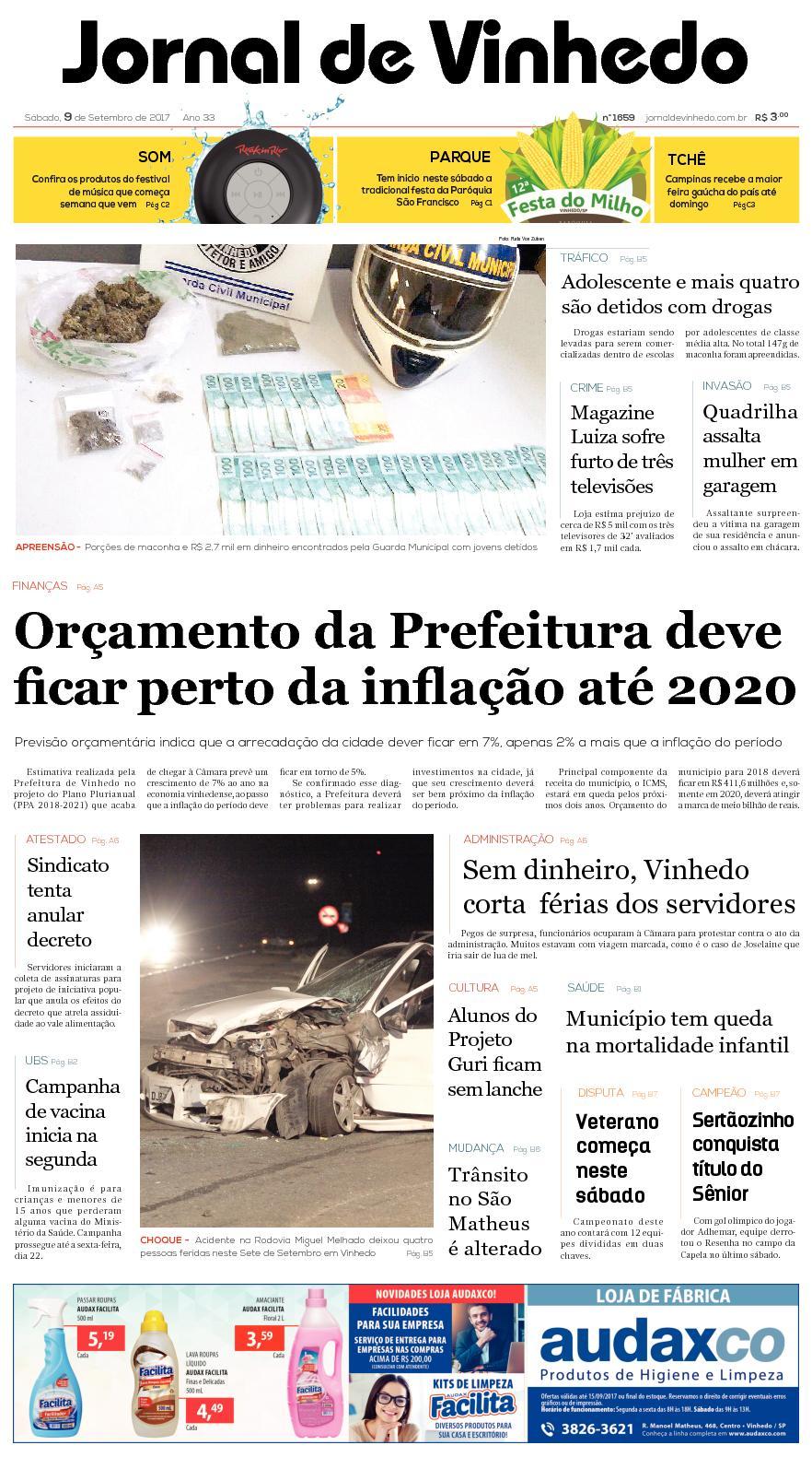 eaa8296e0c Calaméo - Jornal De Vinhedo Sabado 9 De Setembro De 2017 Edic 1659