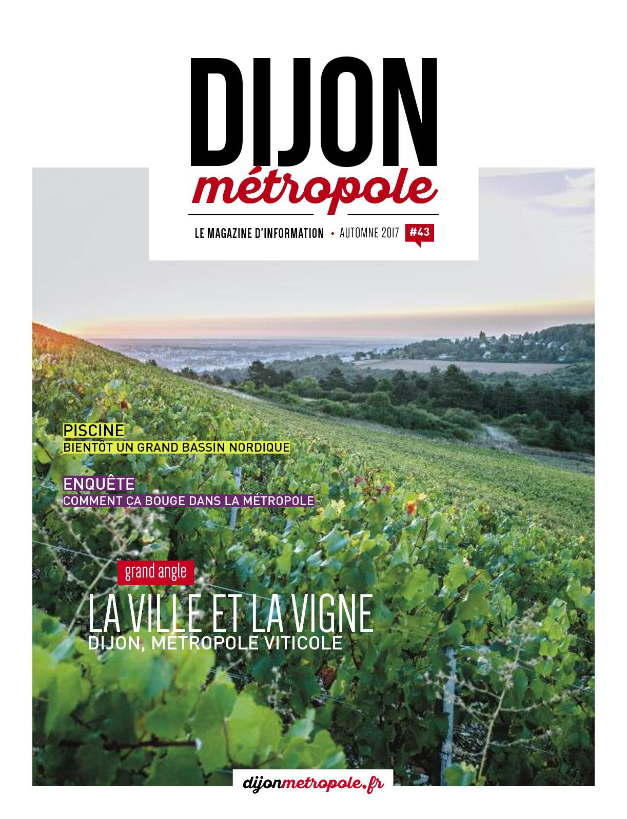 e0e8627d1c9e68 Calaméo - Le Mag Dijon Metropole N43 Septembre 2017