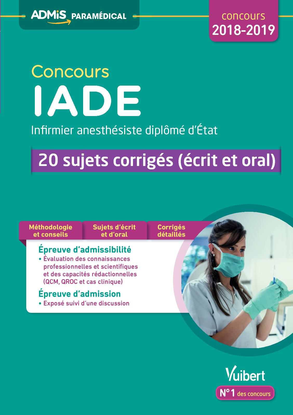 cv infirmiere anesthesiste