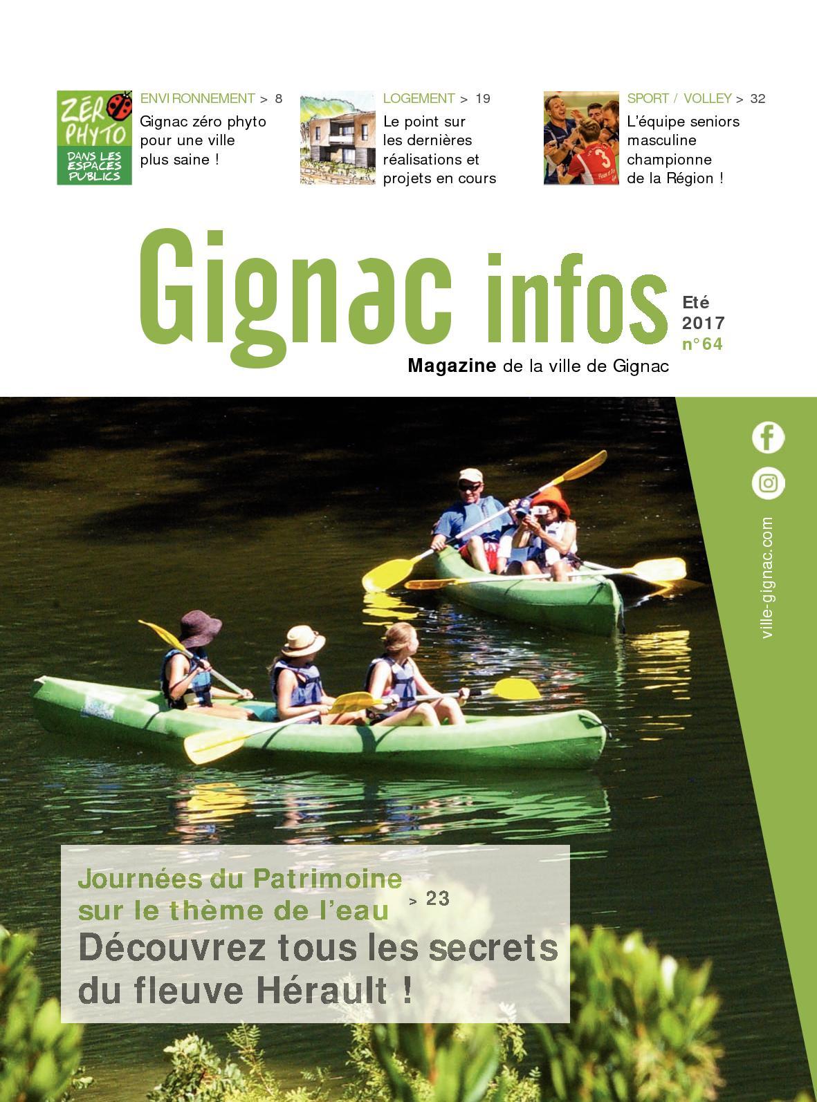 Calaméo - Gignac Infos Ete 2017