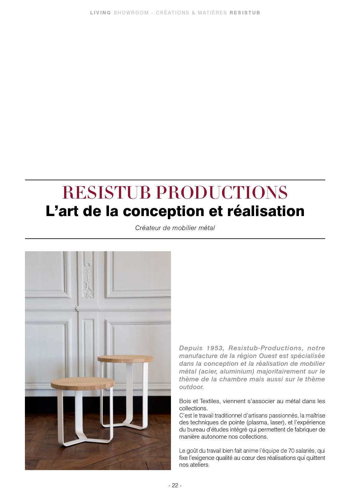 Fabriquer Un Bureau De Travail living showroom n°14 - lyon - calameo downloader