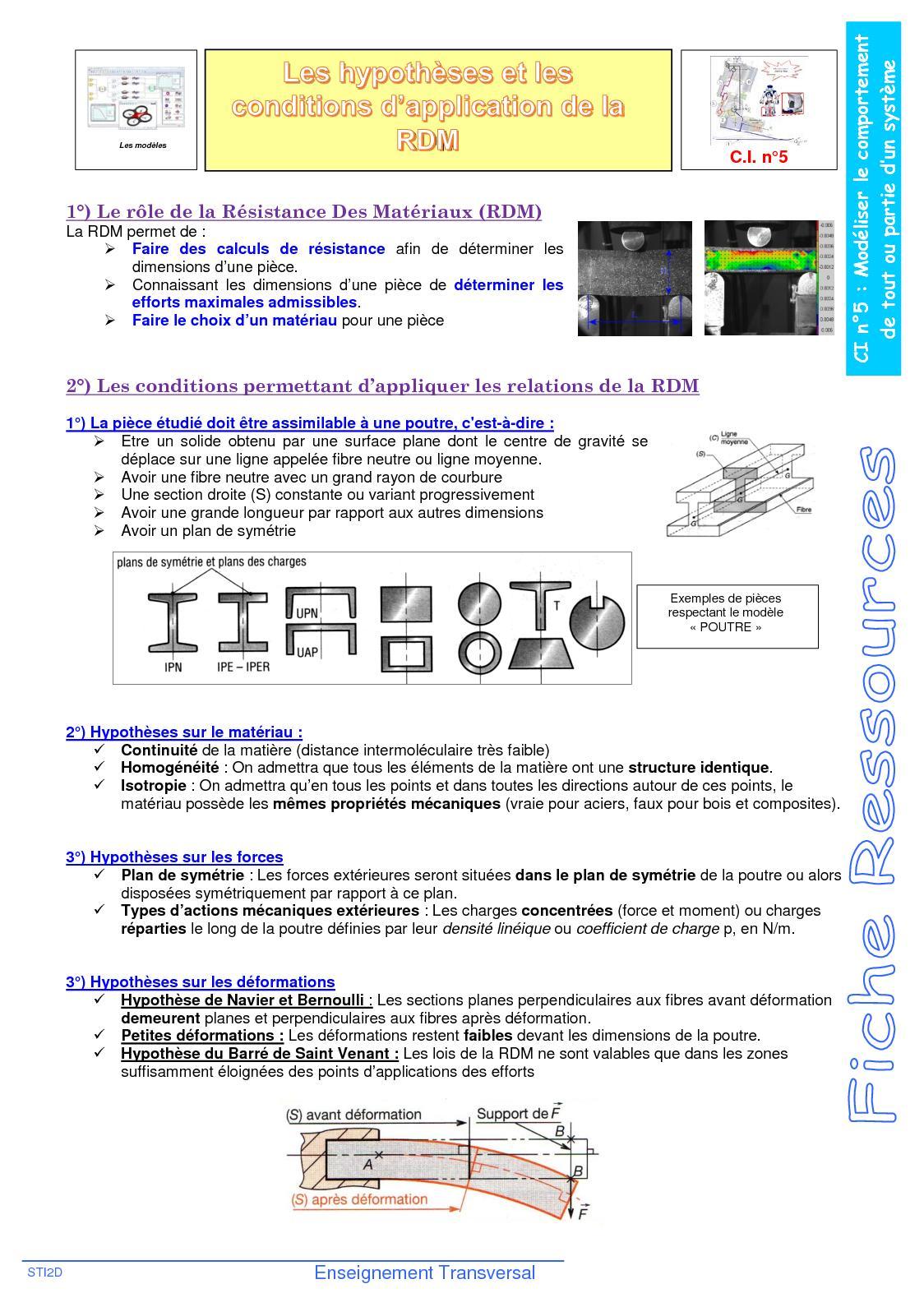 ETT CI5 Hypotheses RDM
