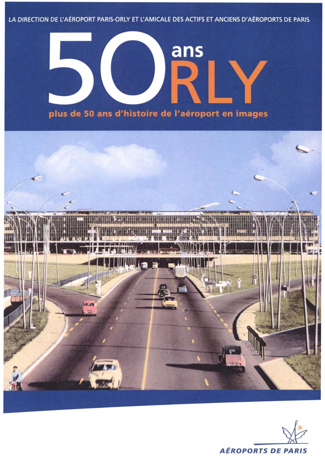 2012 50 Ans D'orly