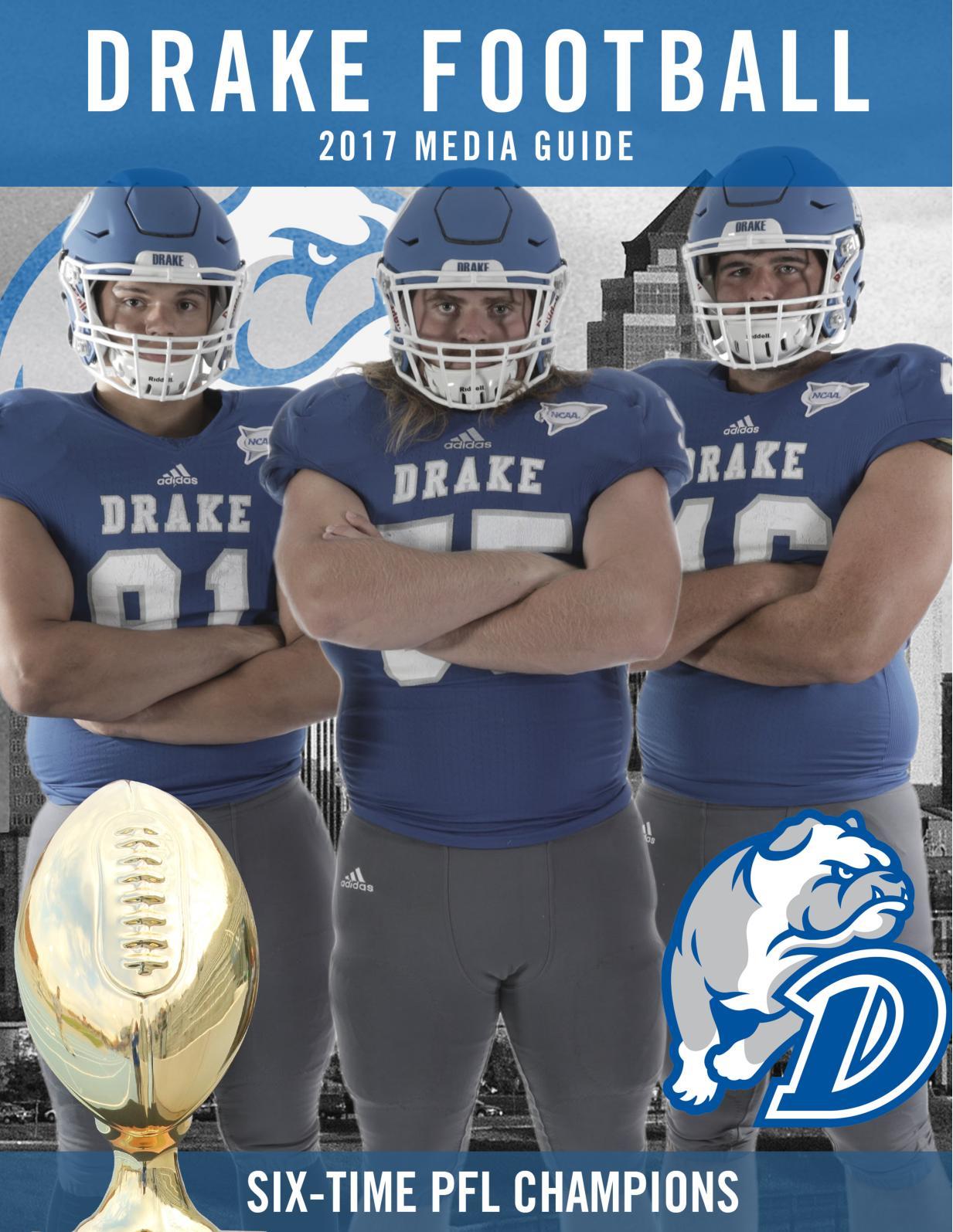 7010efbcb Calaméo - 2017 Drake Football Media Guide
