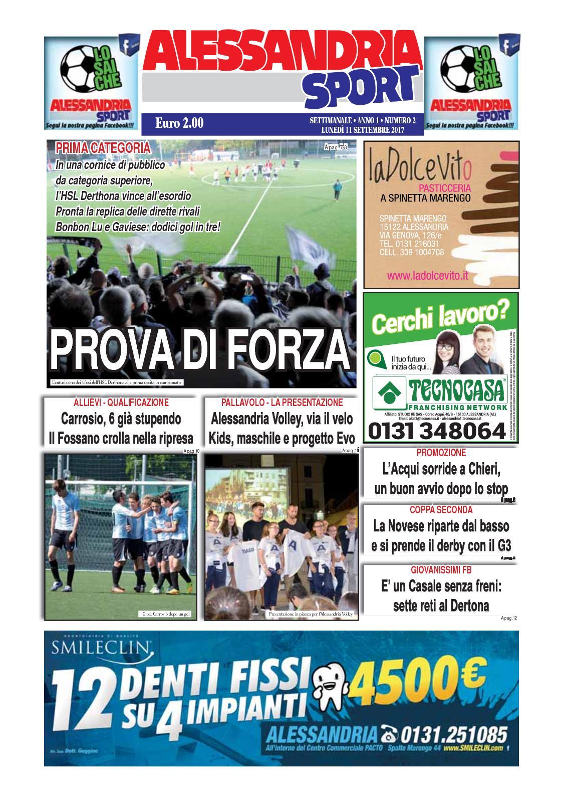 c2d2aff74 Calaméo - 2017 Alessandria Sport 21