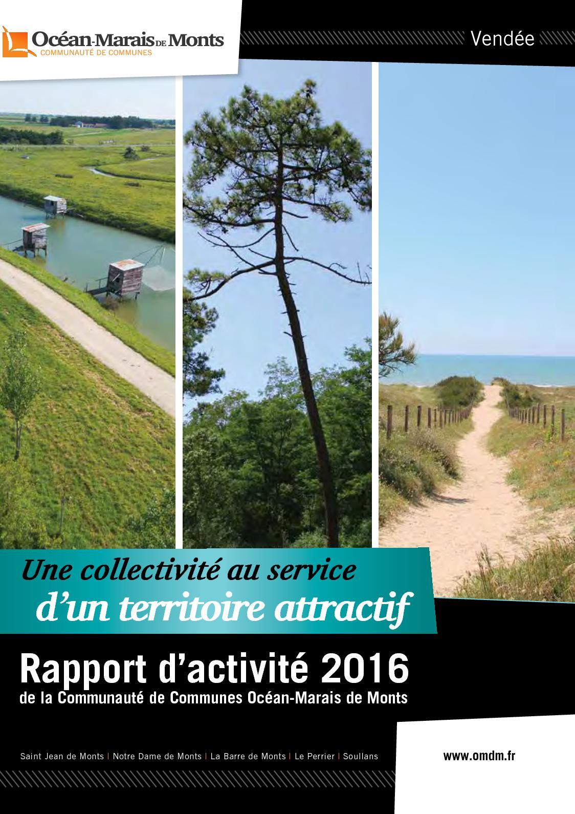 5ee2f09ea099 Calaméo - Rapport d activité 2016 - Communauté de Communes Océan-Marais de  Monts