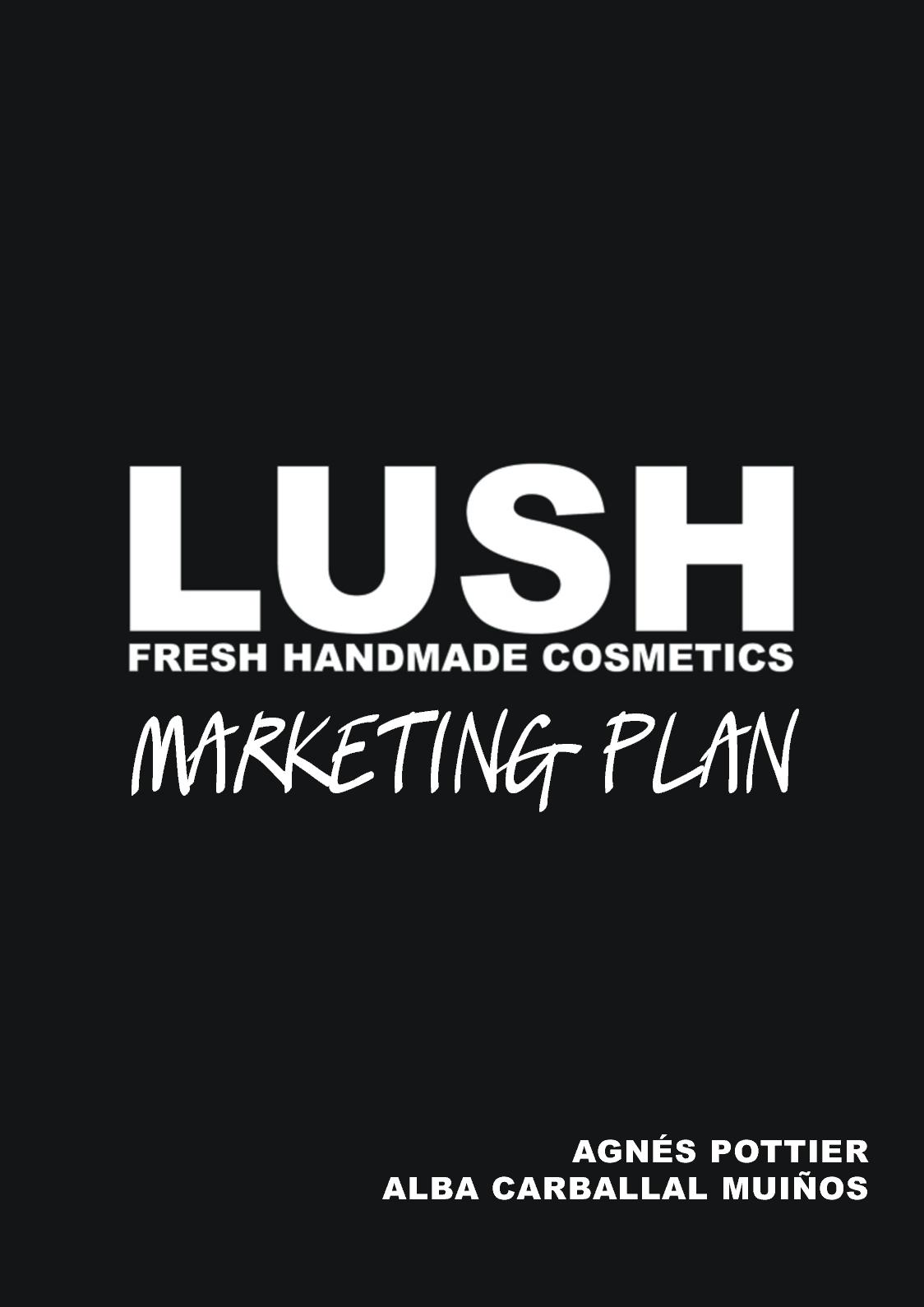 3c9505d20 Calaméo - Lush Marketing Plan
