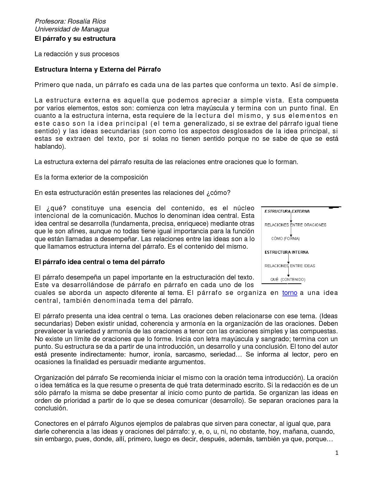 Calaméo El Parrafo Y Su Estructura 1