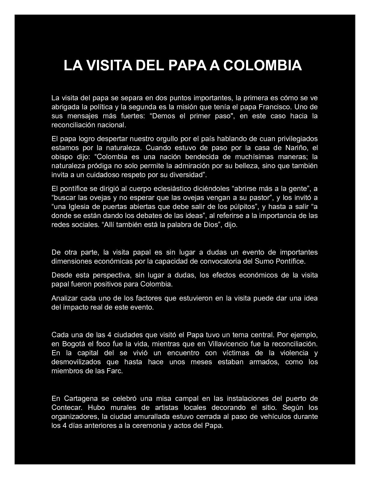 Calaméo - Visita del papa a Colombia 44a1387c6bc