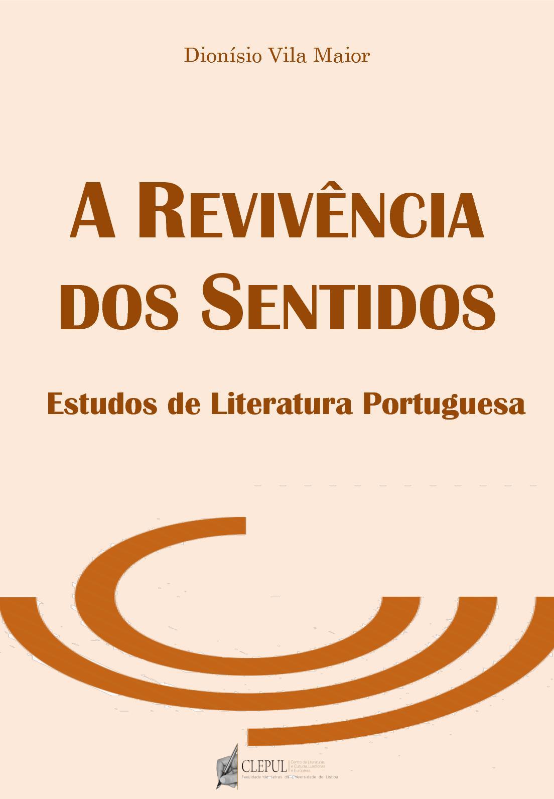335ac1fbbb Calaméo - A Revivência dos Sentidos. Estudos de literatura portuguesa