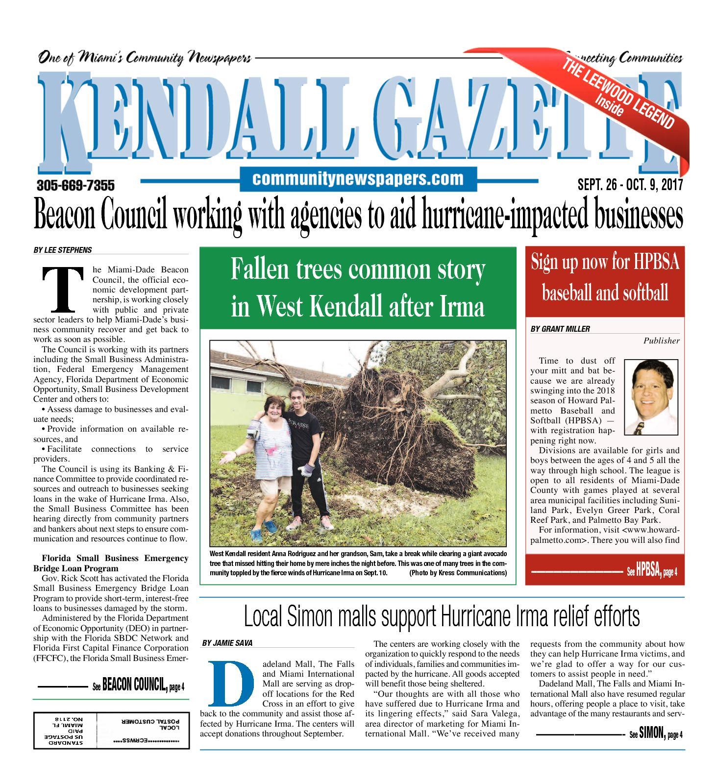 Calaméo - Kendall Gazette 09 26 2017