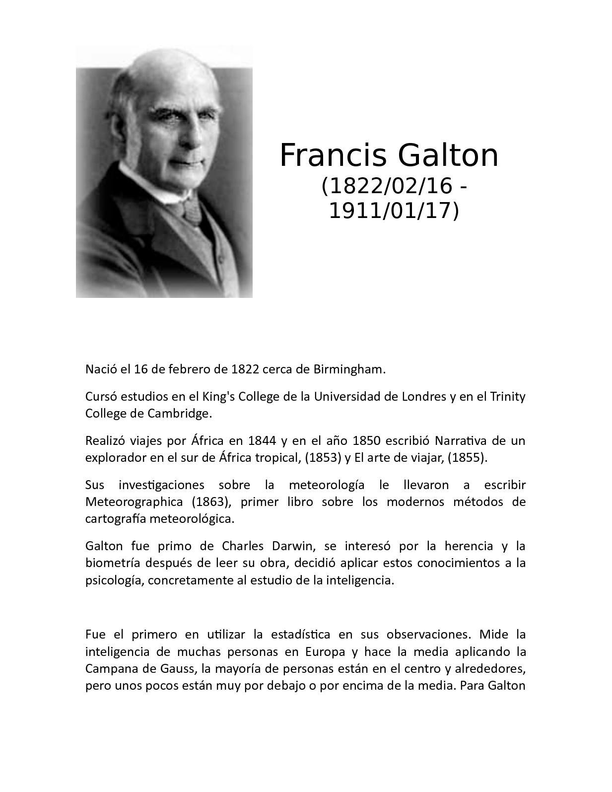 EL GENIO HEREDITARIO FRANCIS GALTON PDF