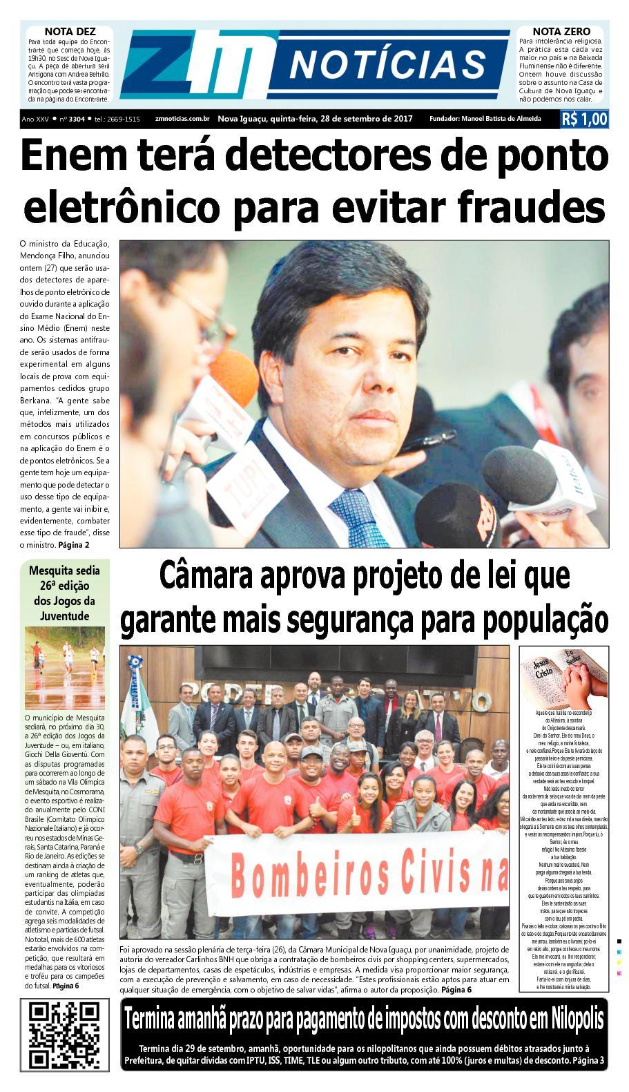 77011f42c5 Calaméo - ZM Noticias - Edição 280917