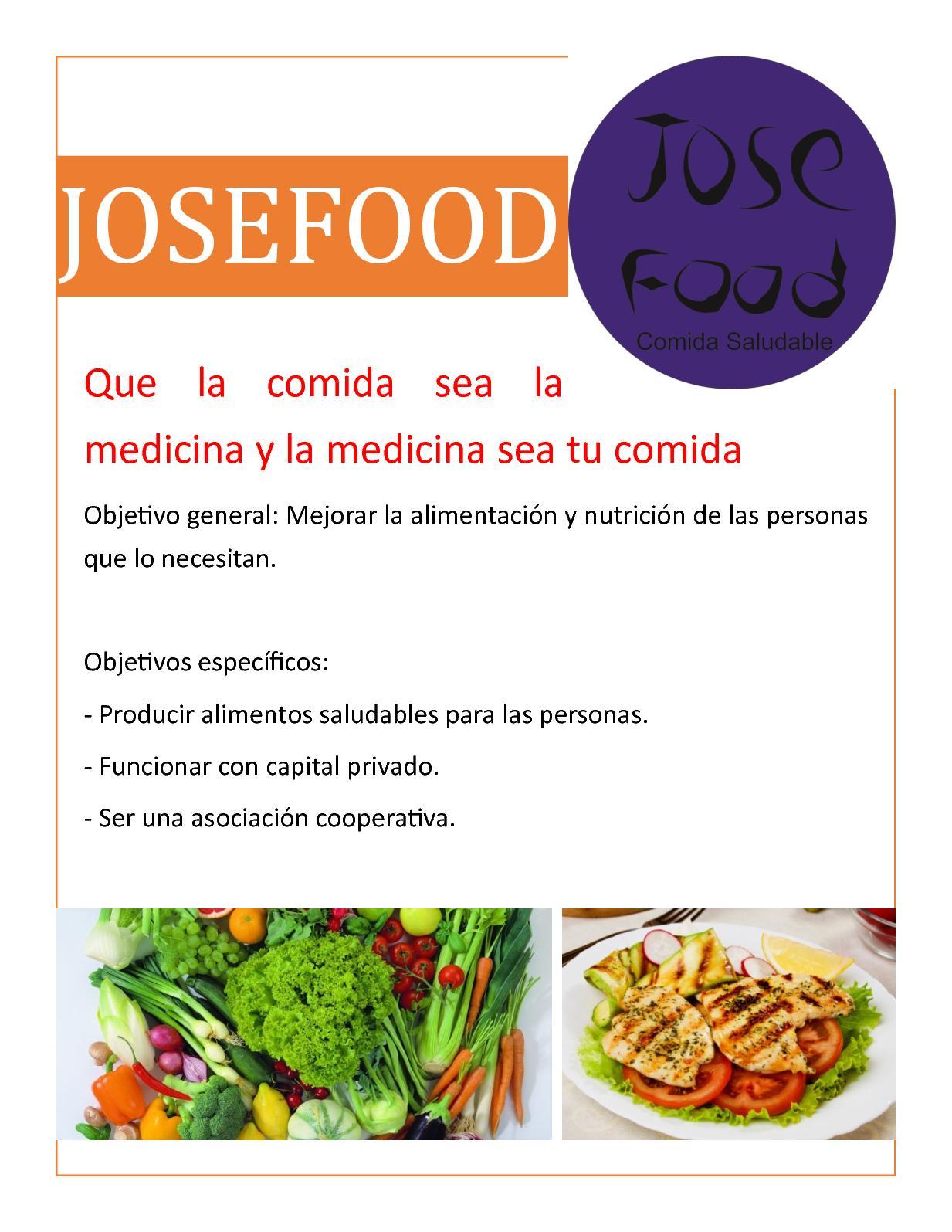 objetivos generales de alimentacion saludable