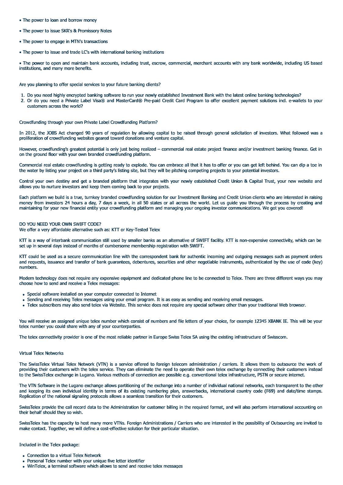 US Bancorp & Capital Trust - CALAMEO Downloader