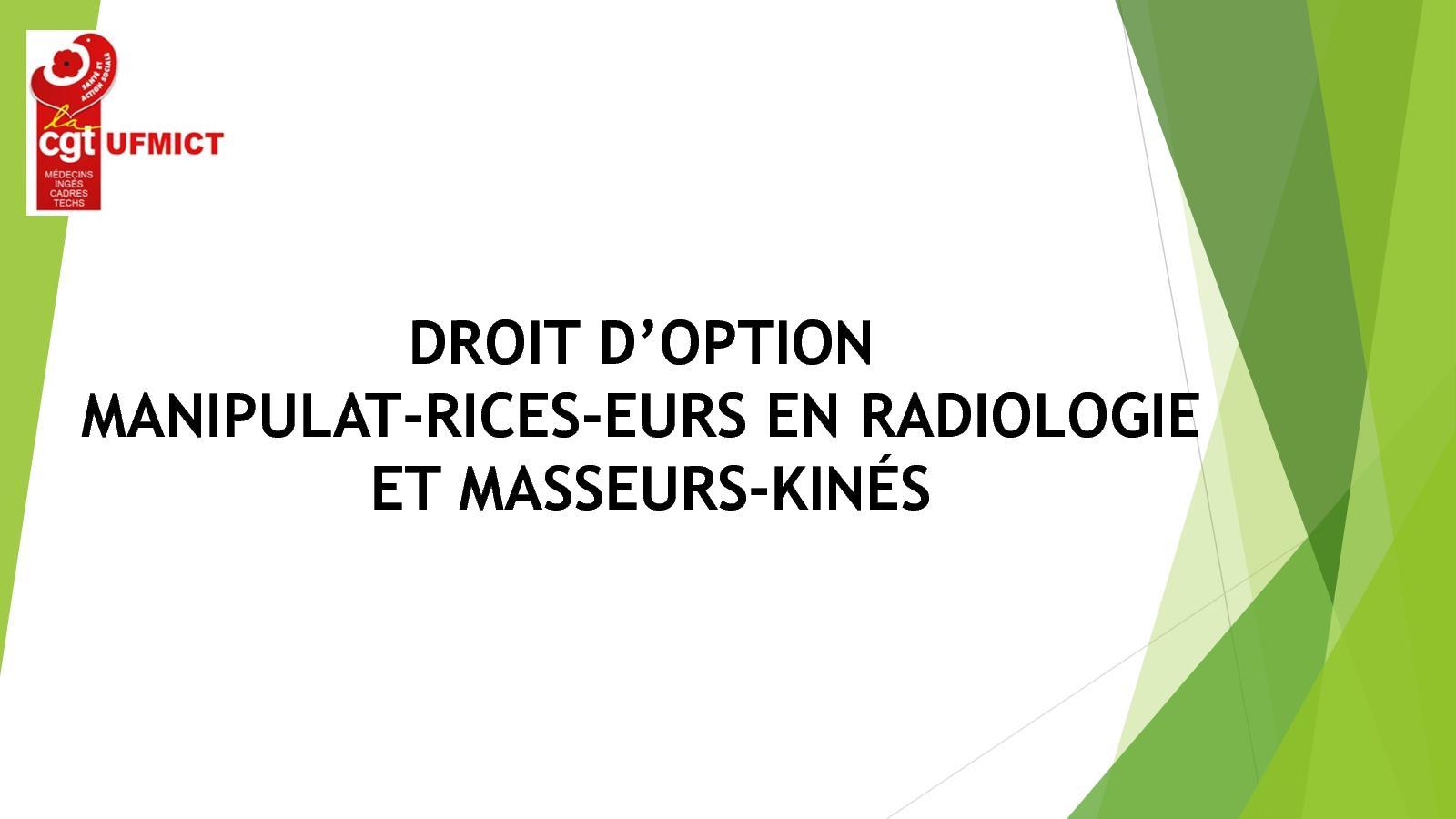 Calameo Cgt 2017 Droit Option Manip Radio Masseur Kine