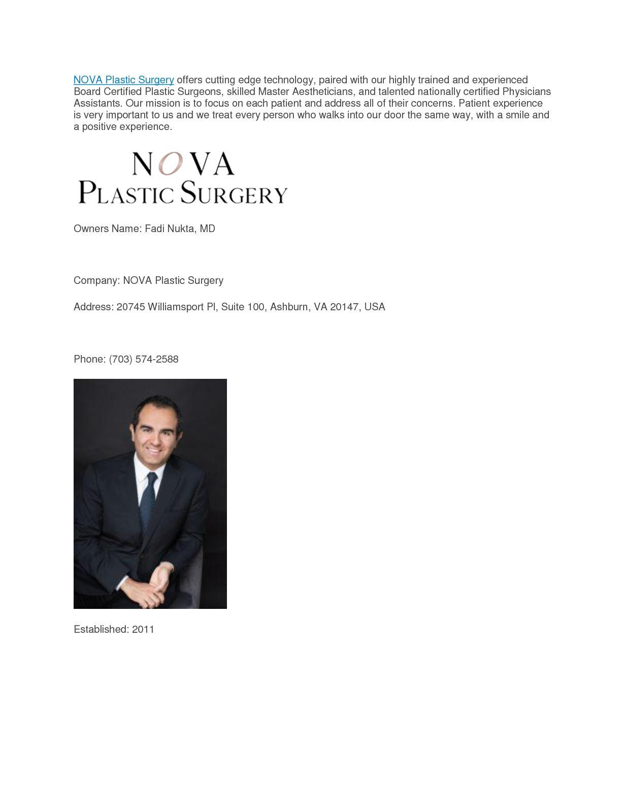 Calameo Nova Plastic Surgery