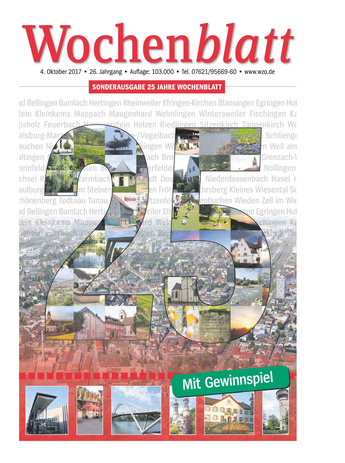 Calaméo 25 Jahre Wochenblatt