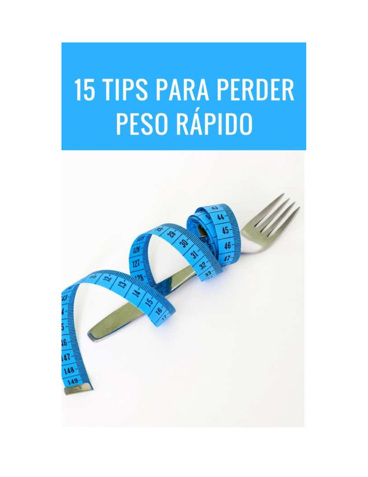 Plan de dieta de pérdida de peso indio simple