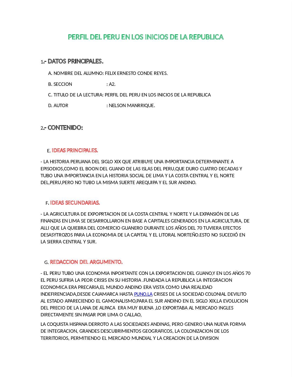 Calaméo - Perfil Del Peru En Los Inicios De La Republica 1506903221783[1]