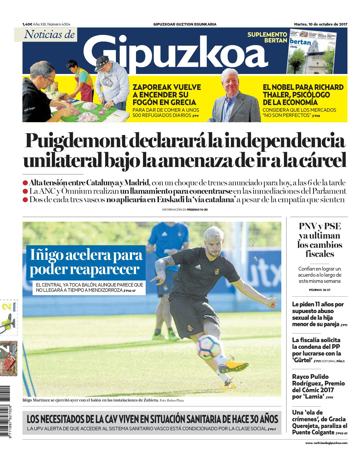 Calameo Noticias De Gipuzkoa 20171010