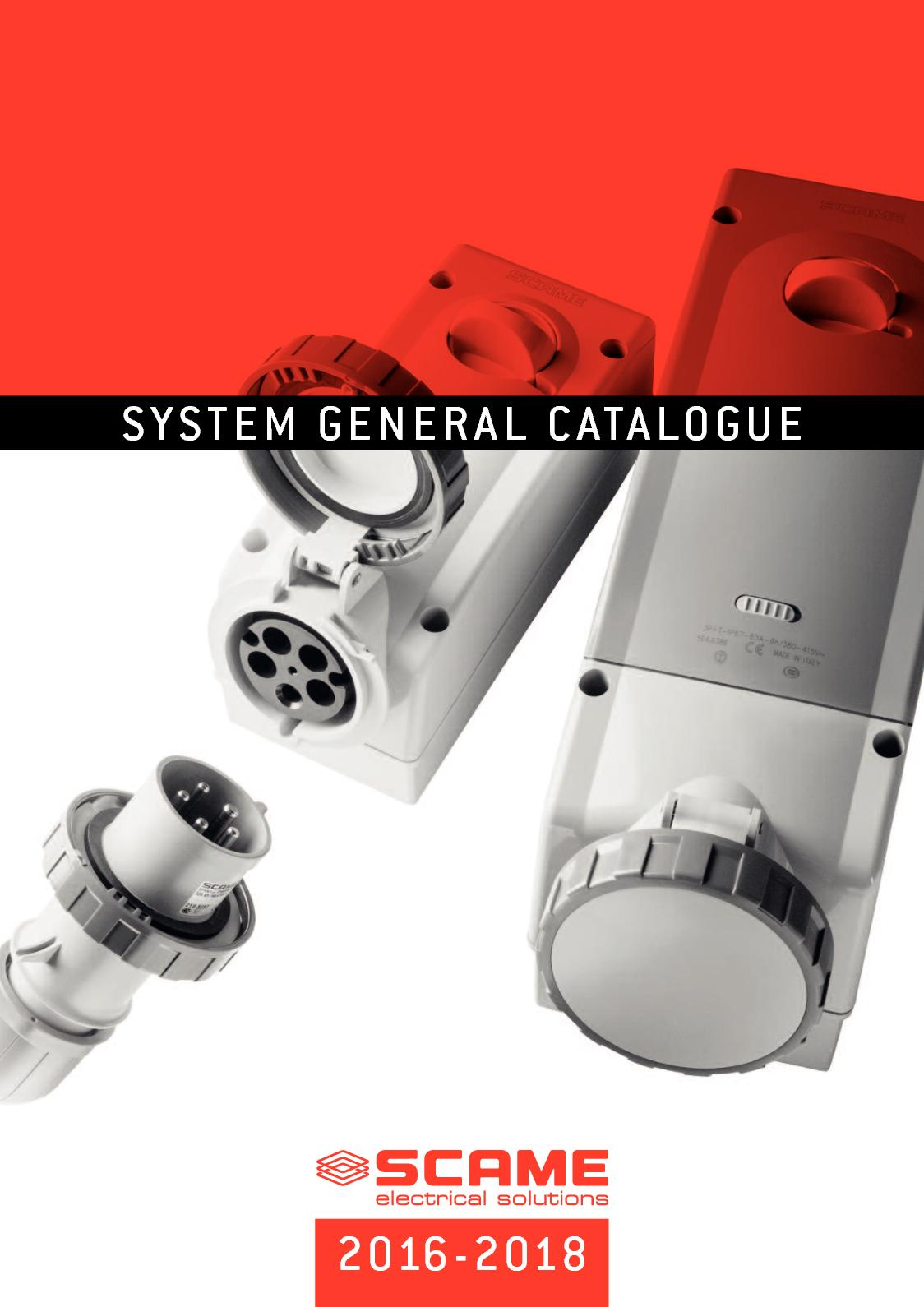 Calaméo - Scame General Catalogue 2016 2018 PART 1 by MERKOM Ltd on