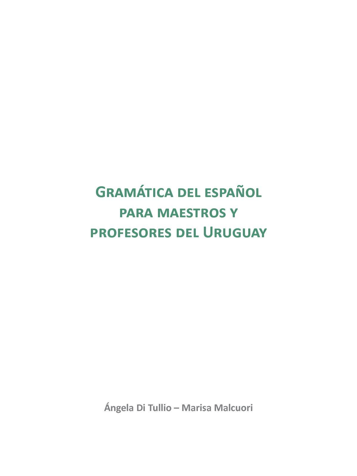 Calaméo - 1 Gramatica Del Espanol Para Maestros Y Profesores b67228c6a9c