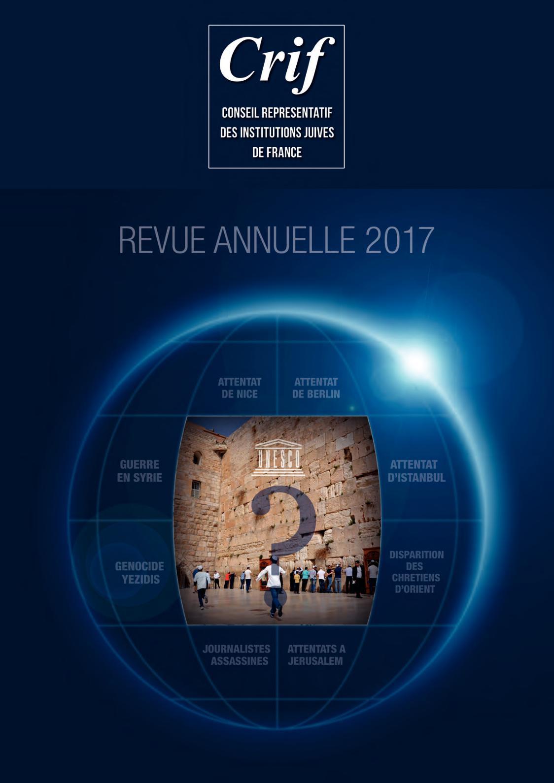 Calaméo - La Revue Du Crif 2017 Web 6e9ecb39983a