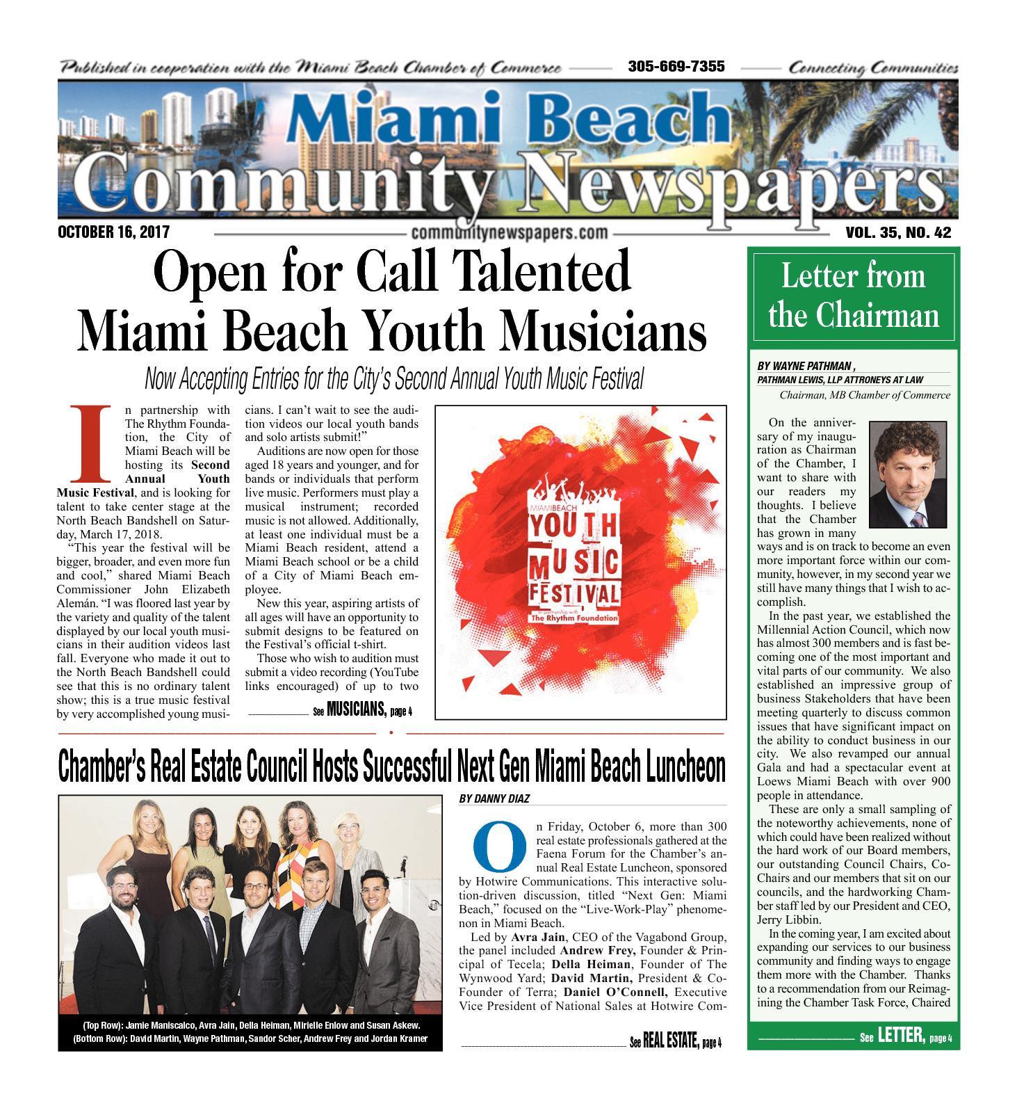 Calaméo - Miami Beach News 10 16 2017