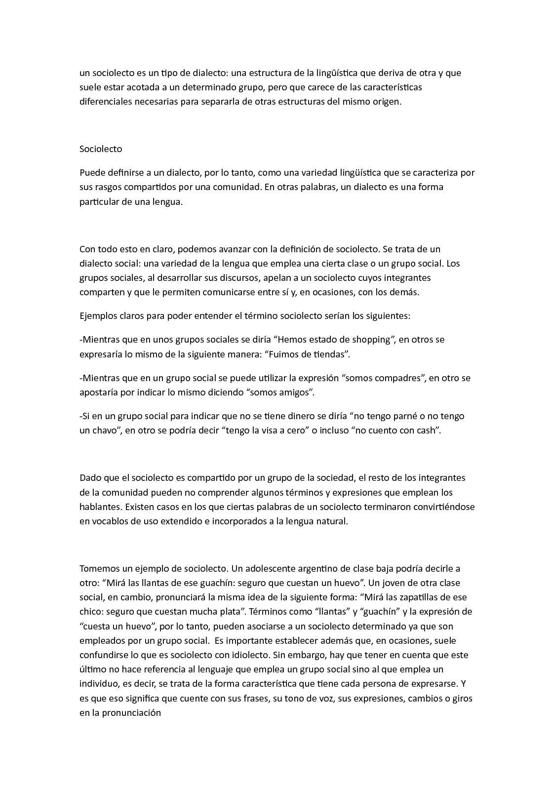 SOCIOLECTO DEFINICION EPUB