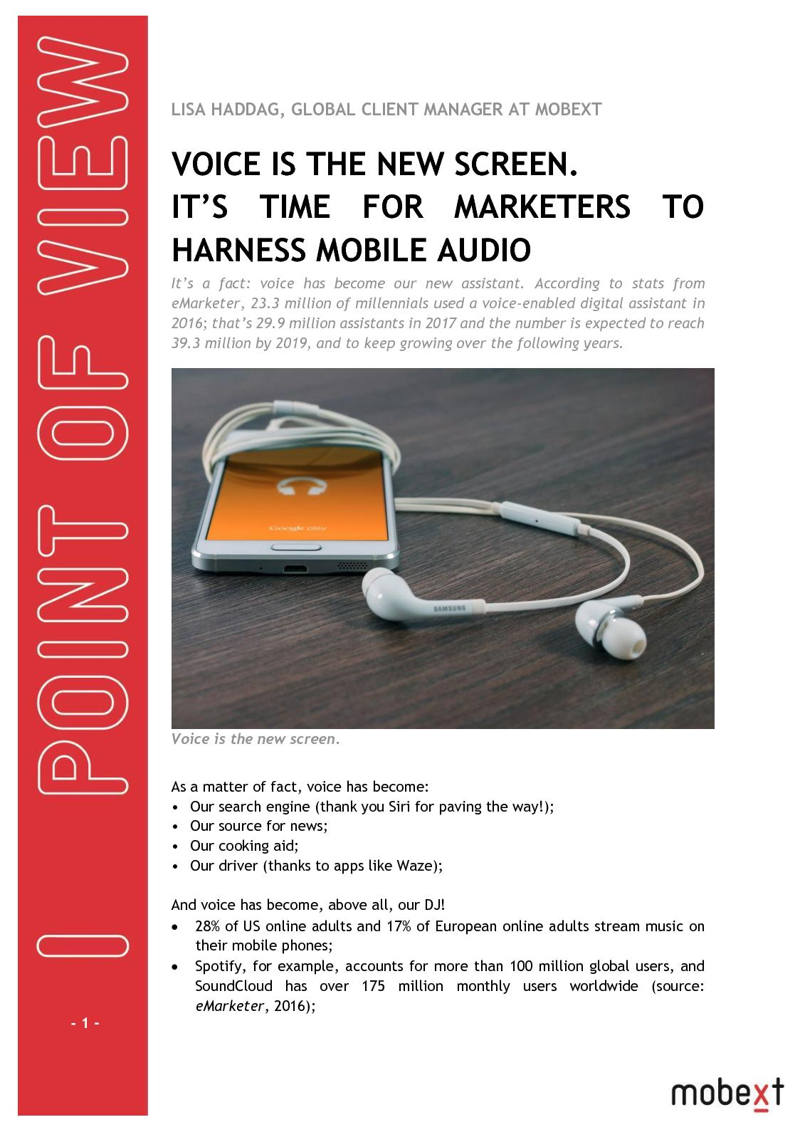 Calaméo - Digital and tech - Pov Mobile Audio