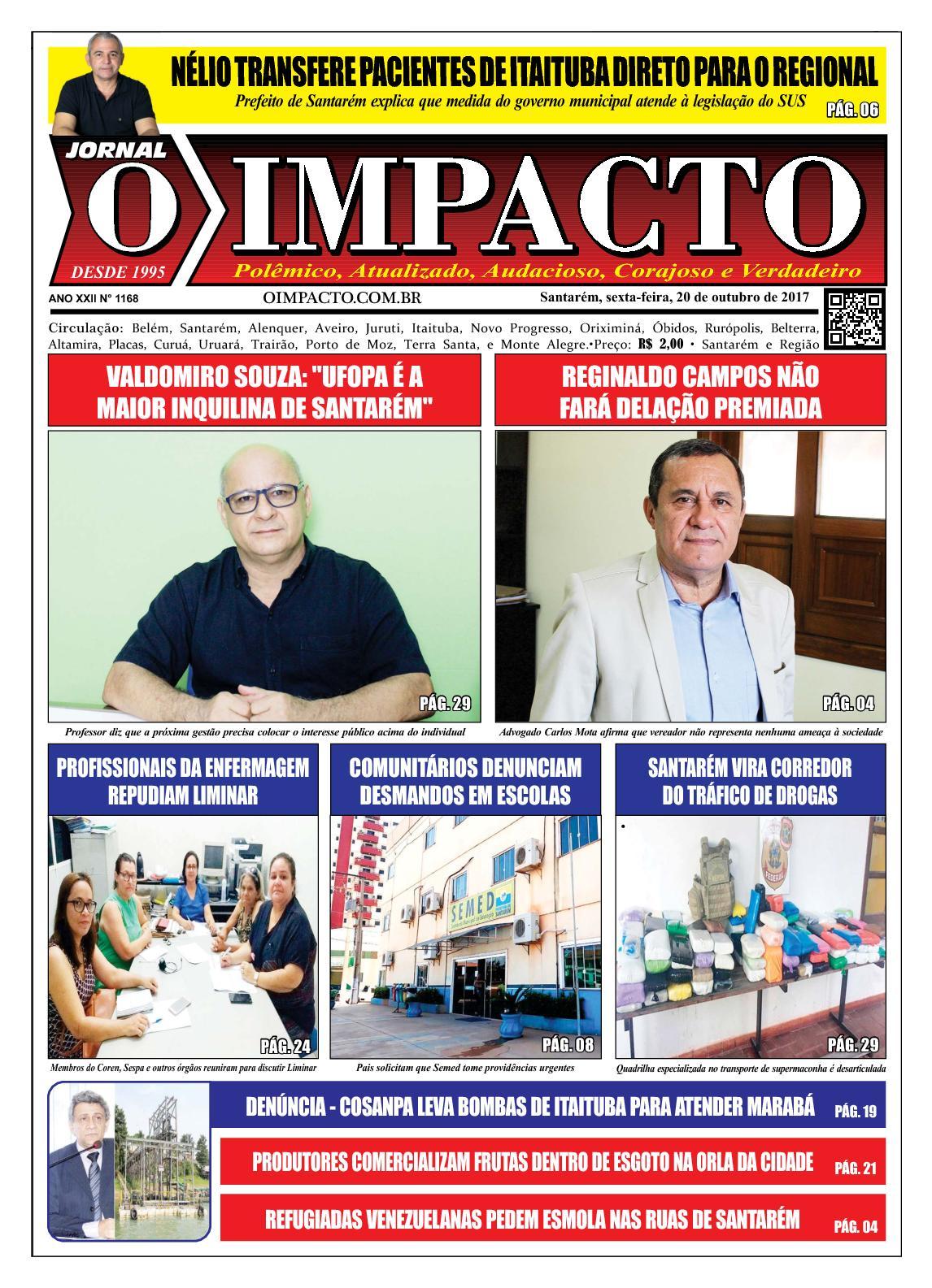 Calaméo - Jornal O Impacto Ed. 1168 a4aa2469f937e