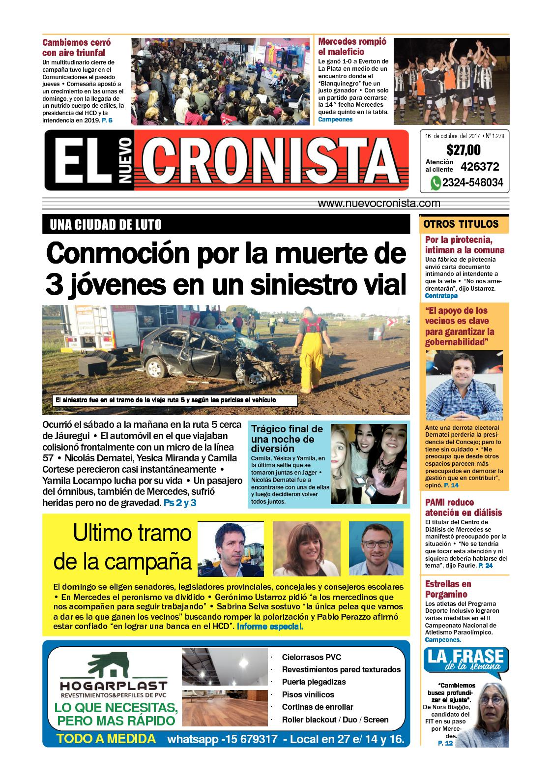 1d7170b0764f6 Calaméo - El Nuevo Cronista 16 10 2017