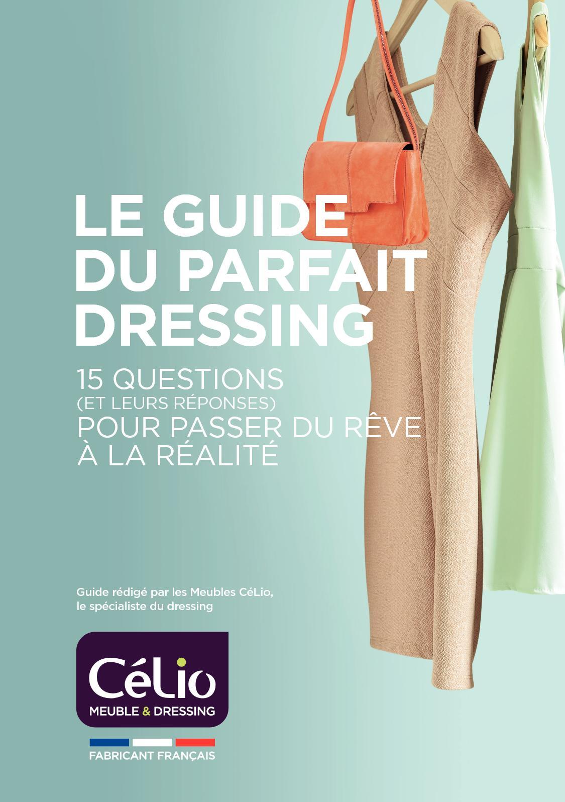 Profondeur Dressing Pour Cintre calaméo - guide du dressing