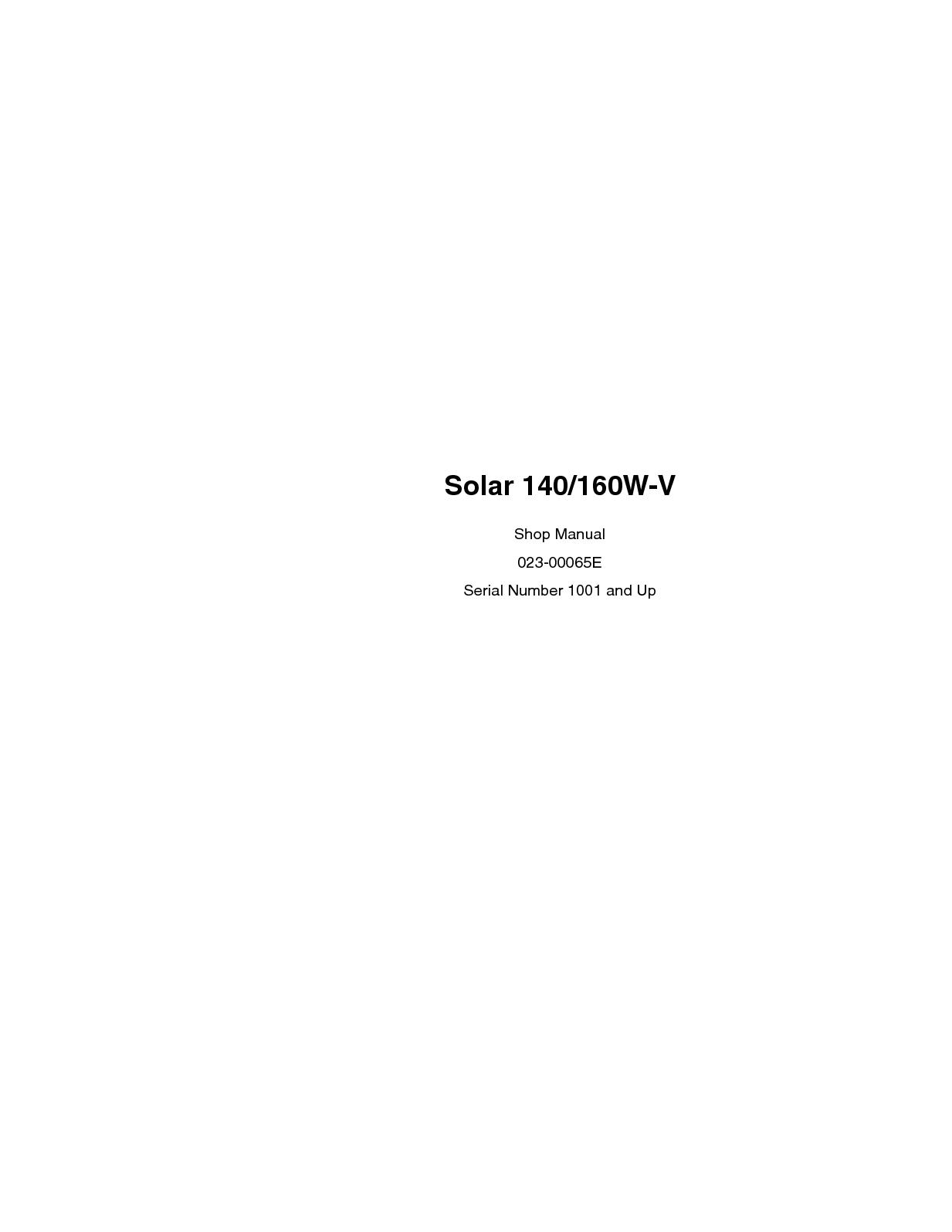 Calaméo - Daewoo Doosan Solar 140W V Wheel Excavator Service Repair Manual