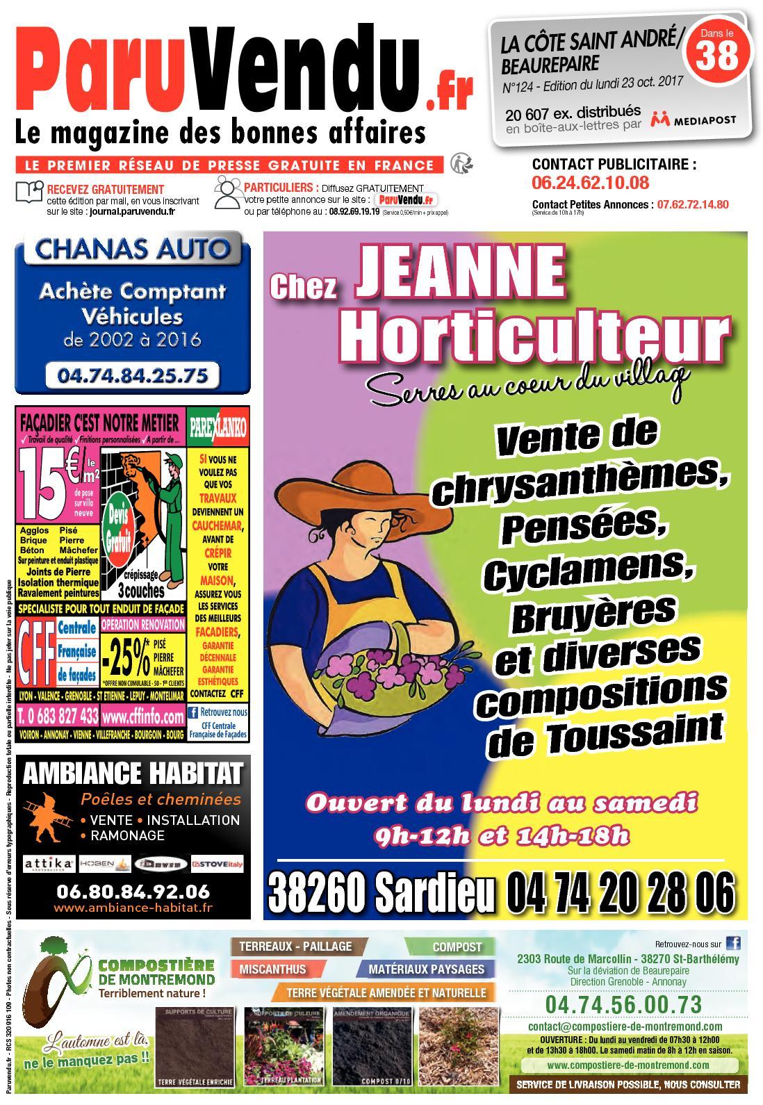 Ambiance Et Patines Valence calaméo - paruvendu.fr cote-st-andre-beaurepaire n°124