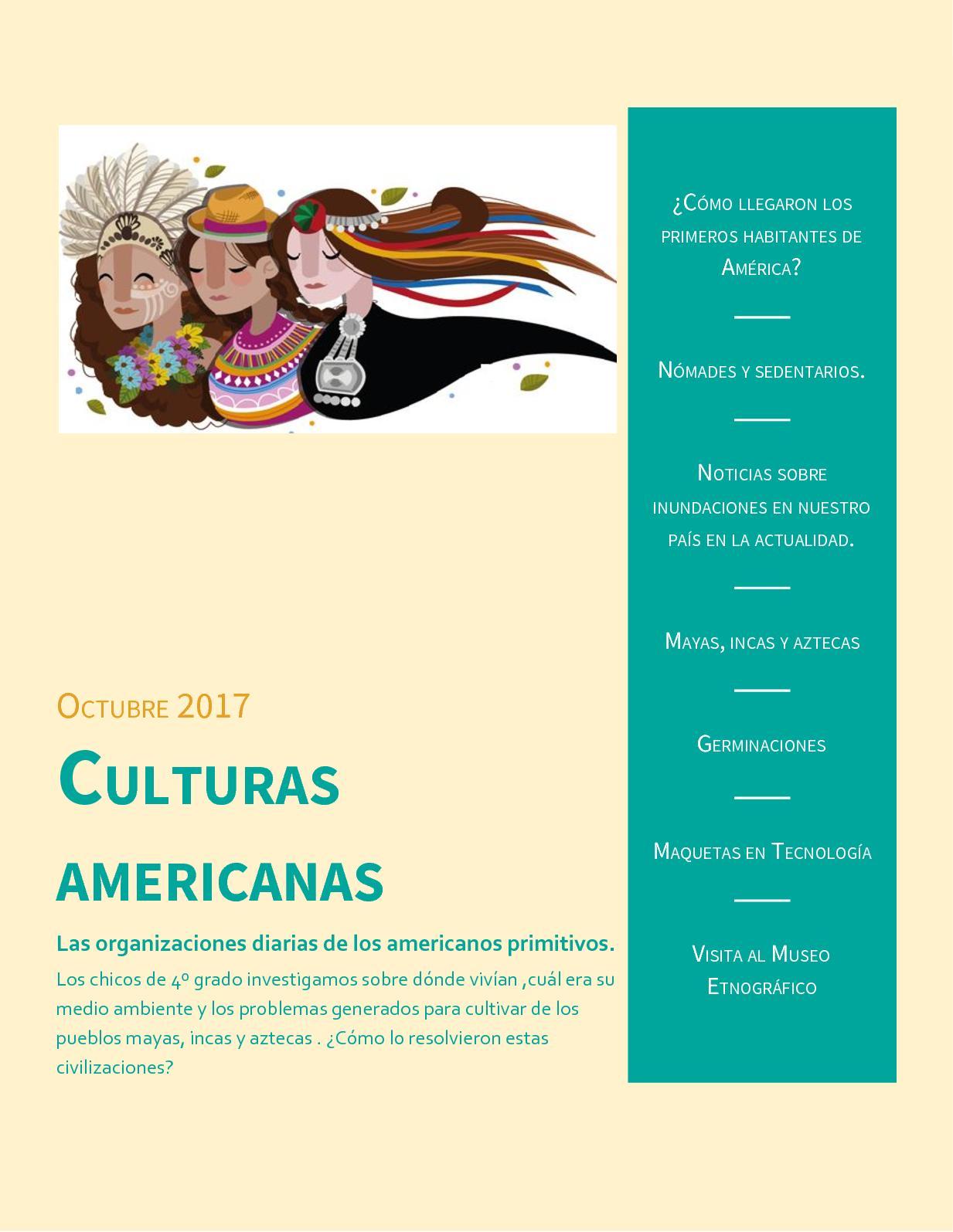 Calaméo Culturas Americanas