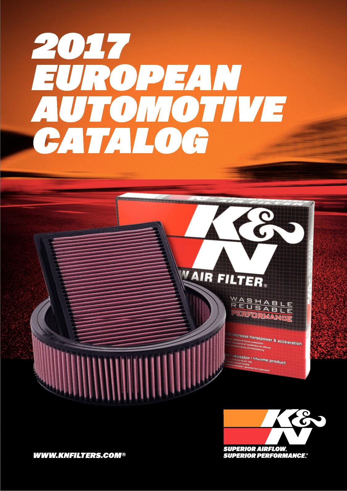 K/&N 33-2368 High Performance Replacement Air Filter