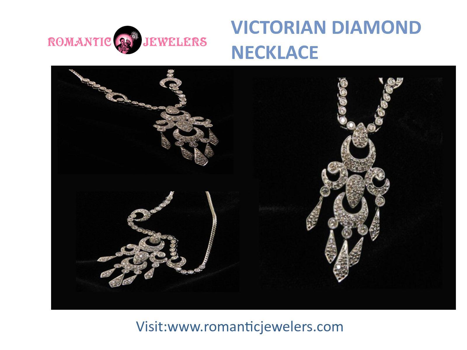 Extra Stunning Victorian Diamond Necklace