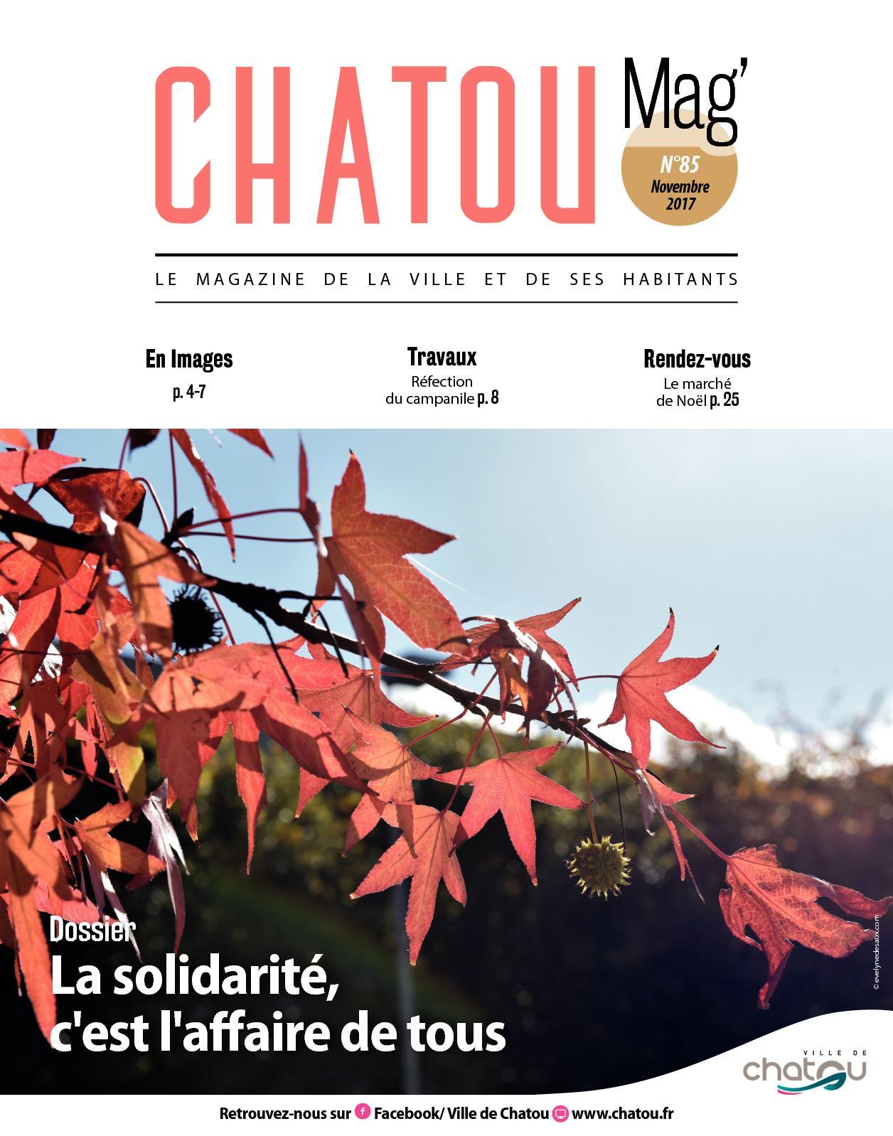 Calaméo Chatou Mag Du Mois De Novembre 2017