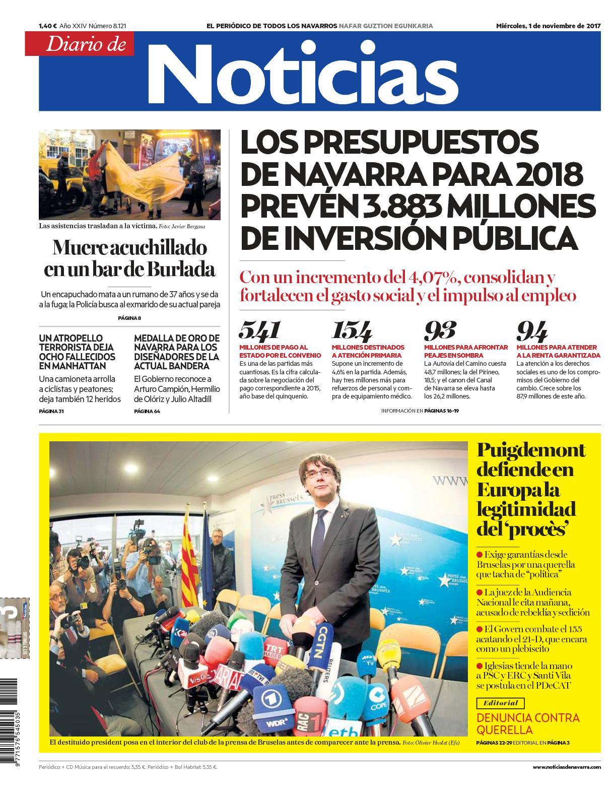 Calaméo Diario De Noticias 20171101