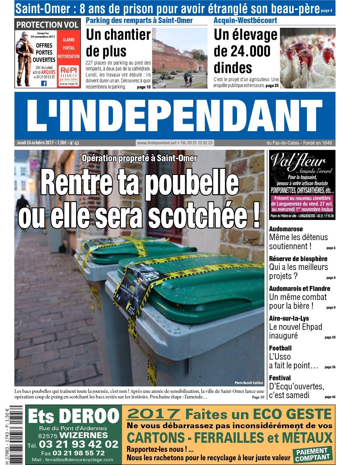 d9a169f88e Calaméo - L'indépendant Semaine 43 2017