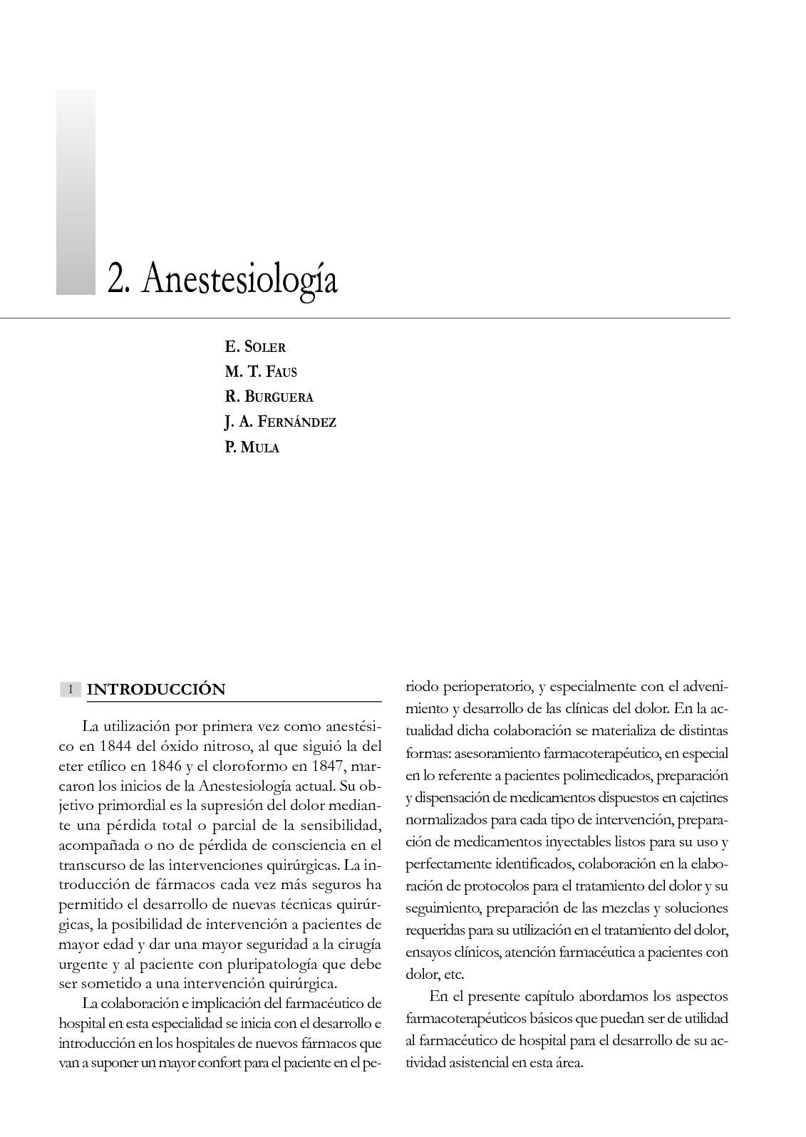 Hipertensión pulmonar anestesia regional