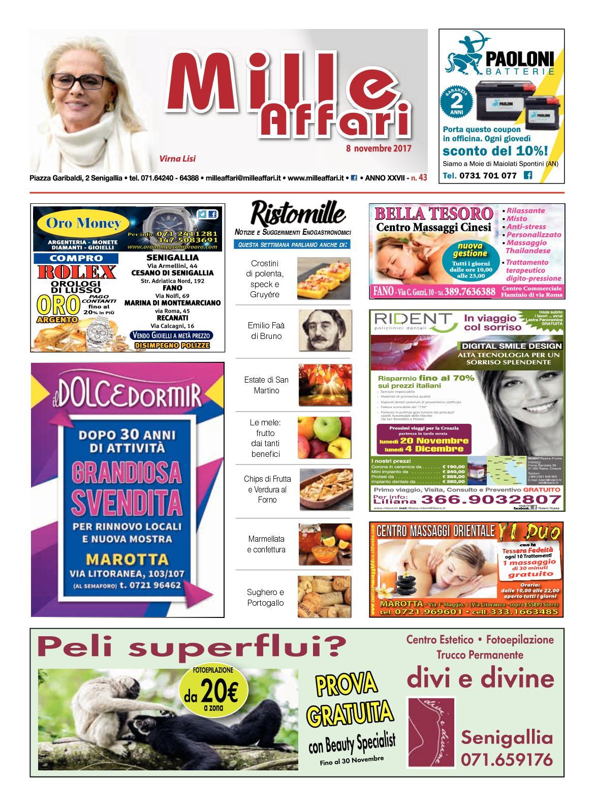 Calaméo - Milleaffari N°43 Del 08.11.17 e610132fdcf4