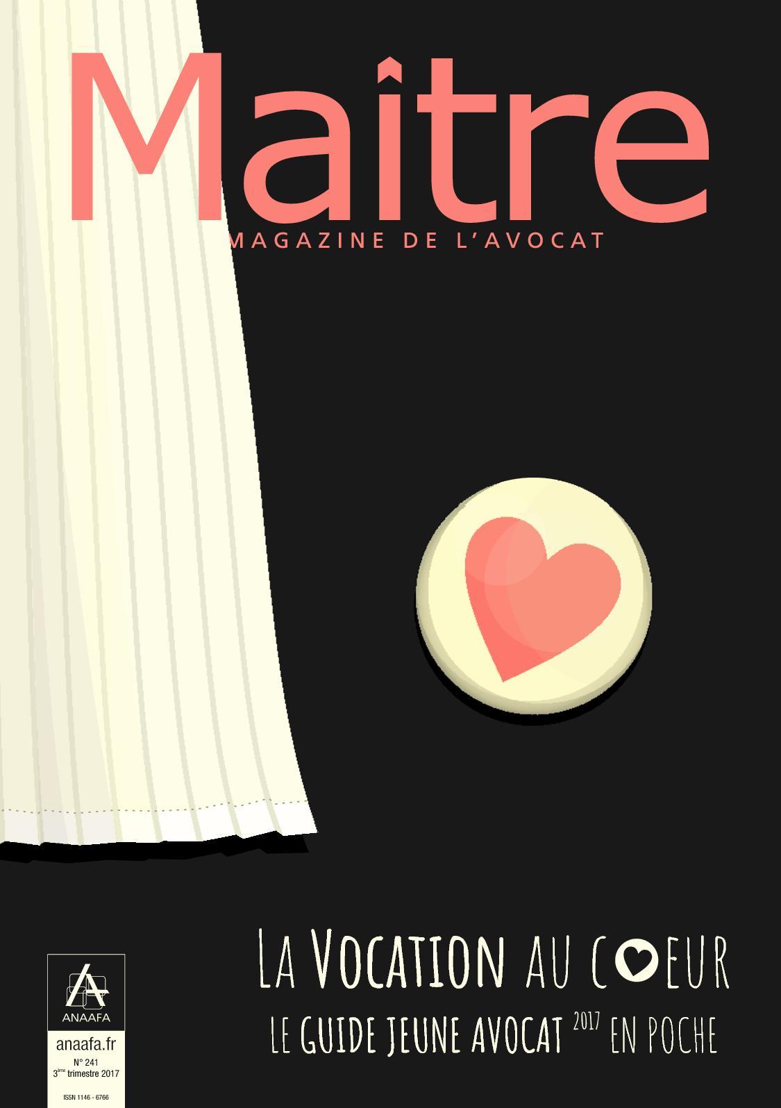 f7a8a225b9b Calaméo - Maitre 241 Brochure Jeune Avocat  FREEACCESS