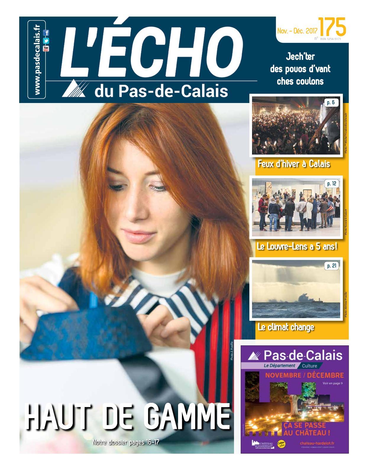 d6f0c696ec79a Calaméo - L'écho Du Pas De Calais, Novembre Décembre 2017, N° 175