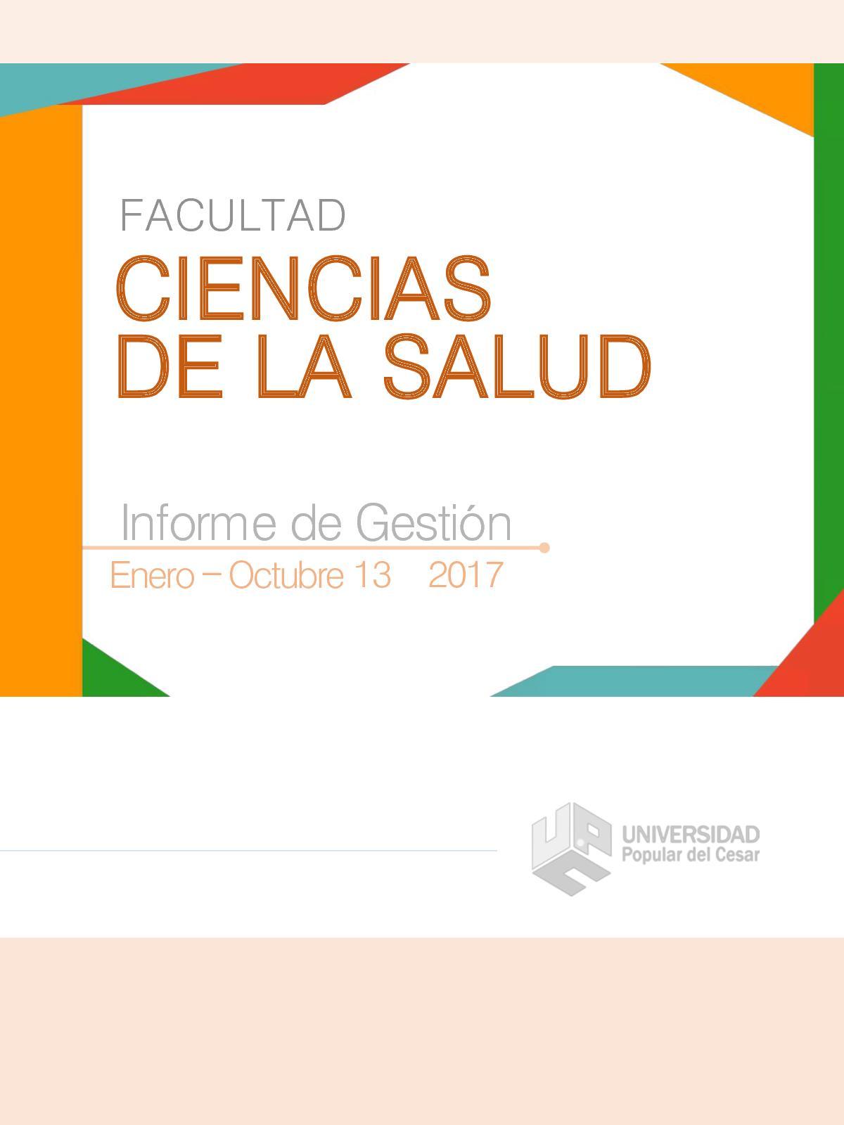 Anays Leyva Edad calaméo - informe facultad salud 2017 pdf 07 11 2017