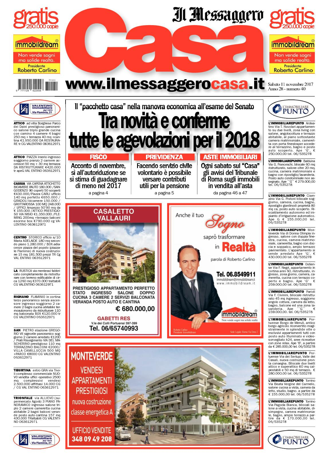 Calaméo Messaggero Casa 11 11 2017