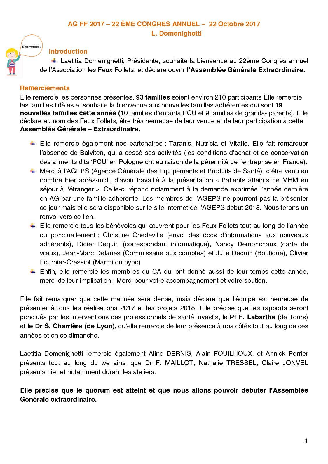 Calameo Congres Ff Compte Rendu Assemblee Generale Du 22102017