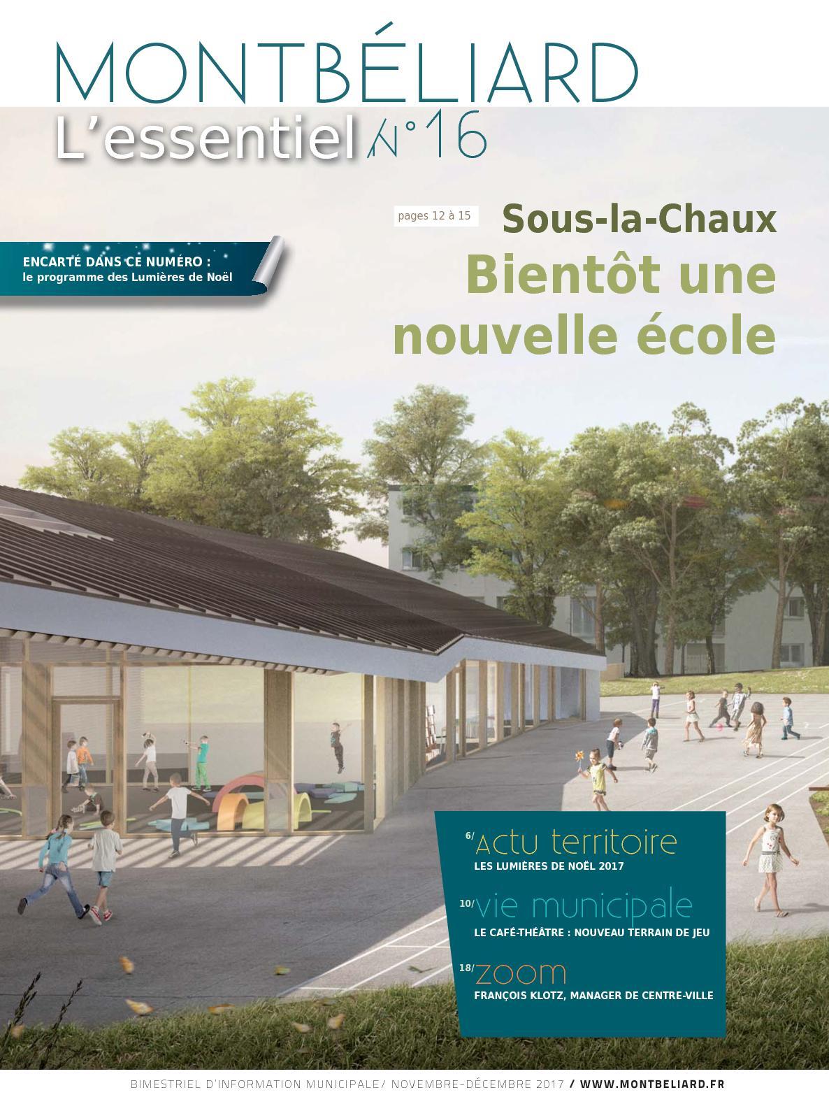 Cours De Dessin Montbéliard calaméo - montbéliard l'essentiel n°16 - novembre décembre 2017